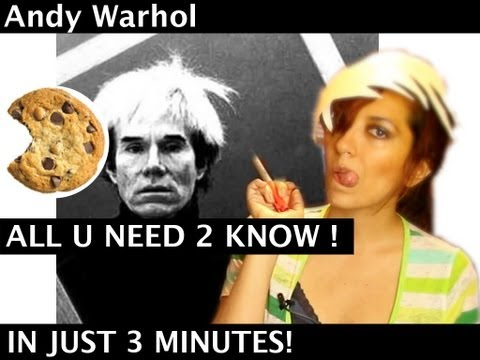 Andy Warhol in 3 Minutes