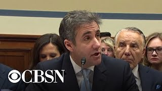 Cohen: Trump knew WikiLeaks had Clinton emails