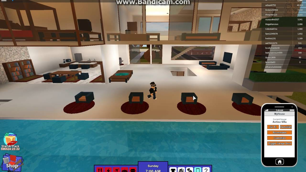 Roblox rocitizens antine villa mega mansion design youtube for Kitchen designs bloxburg