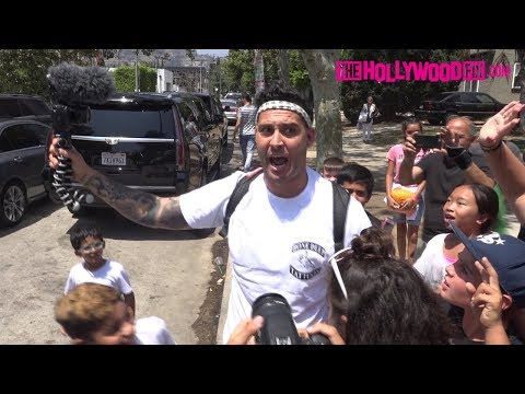 Thumbnail: Chad Tepper Disses RiceGum While Getting Mobbed By Fans At The Team 10 House 8.6.17