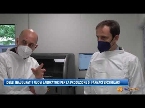 ICGEB, NUOVI LABORATORI PER I FARMACI BIOSIMILARI | 14/05/2021