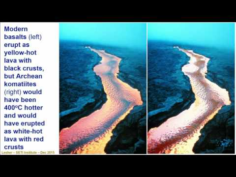 High Temperature Volcanism on Earth - Michael Lesher (SETI T