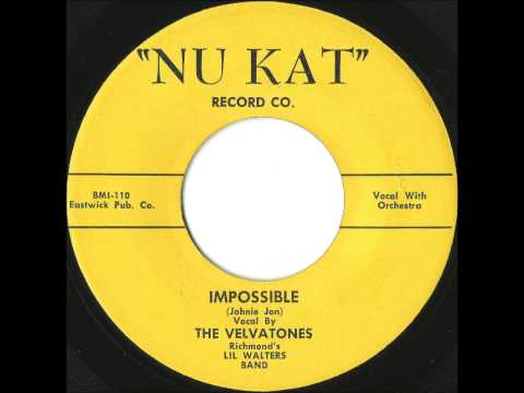 Velvatones - Impossible - Killer Richmond, VA Doo Wop Ballad