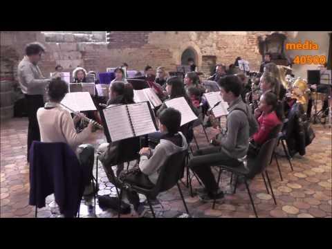 Premier concert de l'Ecole de Musique du Cap de Gascogne 1er avril 2017
