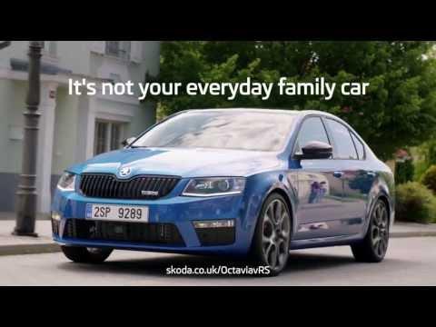 ŠKODA Octavia vRS - Not Your Everyday Family Car Ad