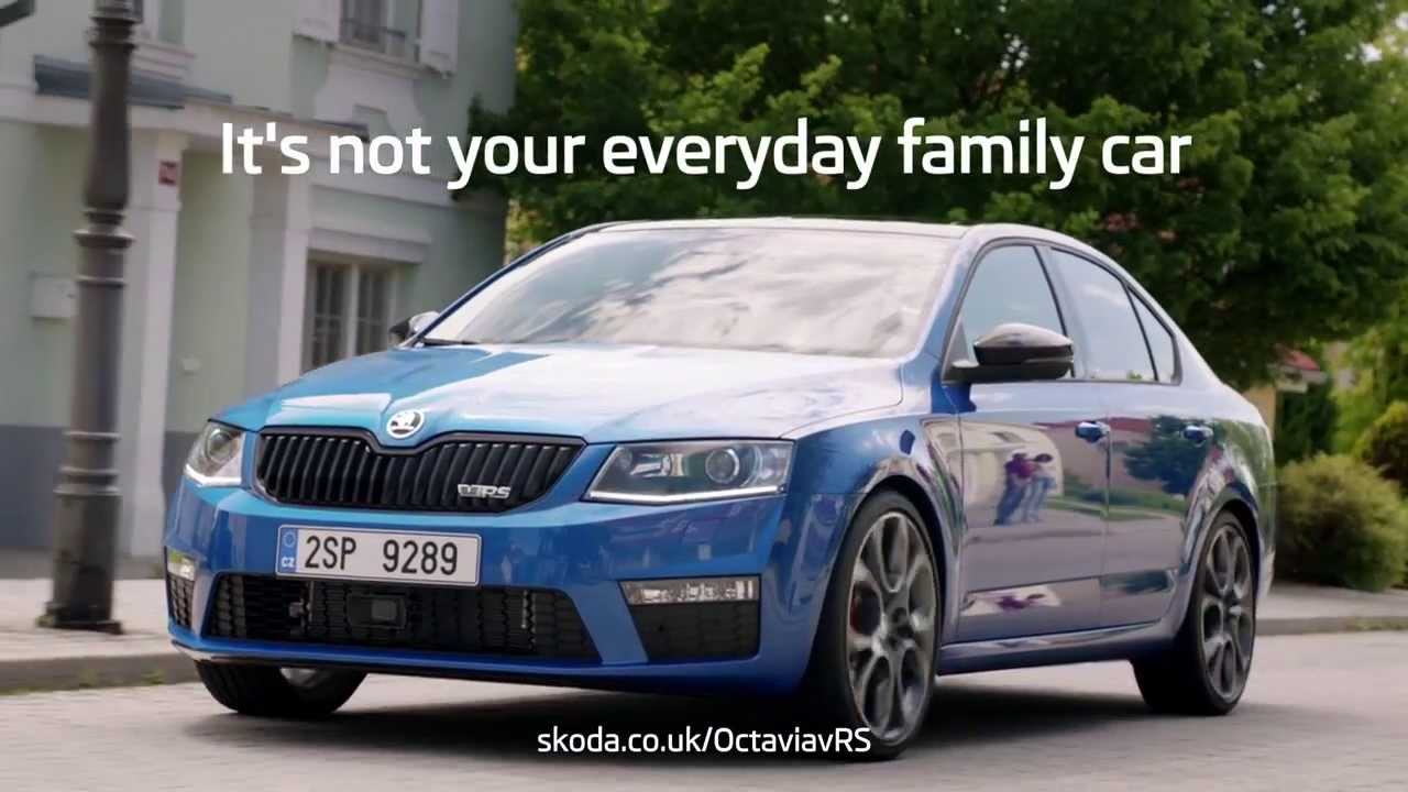 koda octavia vrs not your everyday family car ad youtube