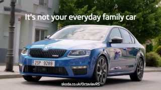 ŠKODA Octavia vRS - Not Your Everyday Family Car Ad