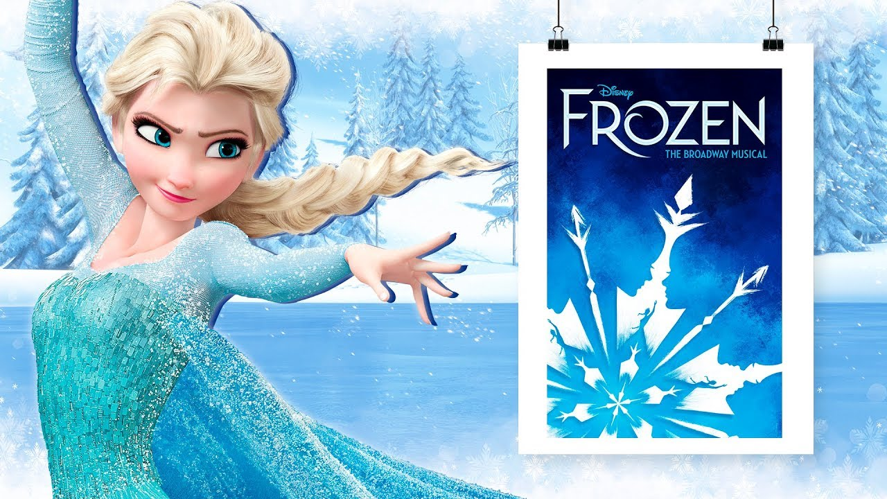 New poster for FROZEN the Musical premiere and 7 rejected - YouTube