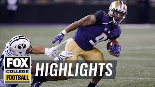 BYU vs. Washington   FOX COLLEGE FOOTBALL HIGHLIGHTS