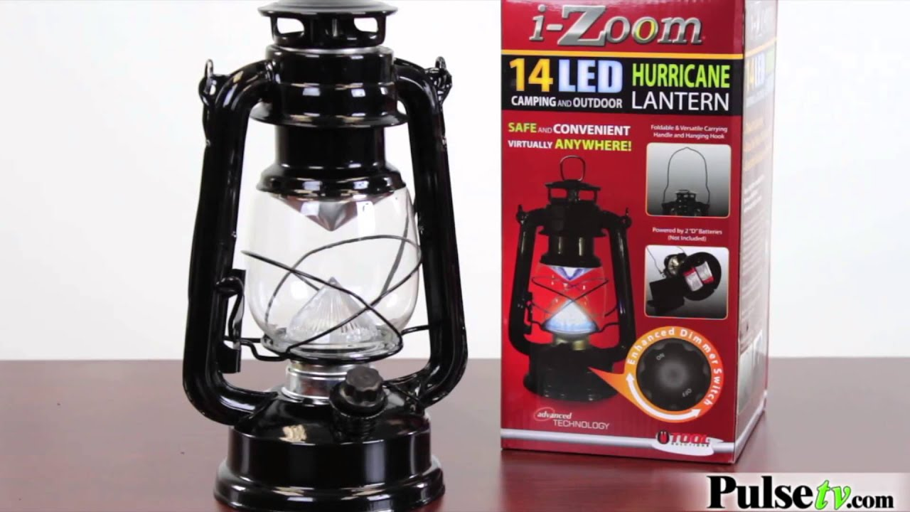 i zoom 14 led hurricane lantern youtube