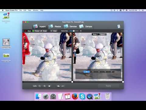 Photo Eraser - Tutorials of how to erase unwanted object from Photo on Mac