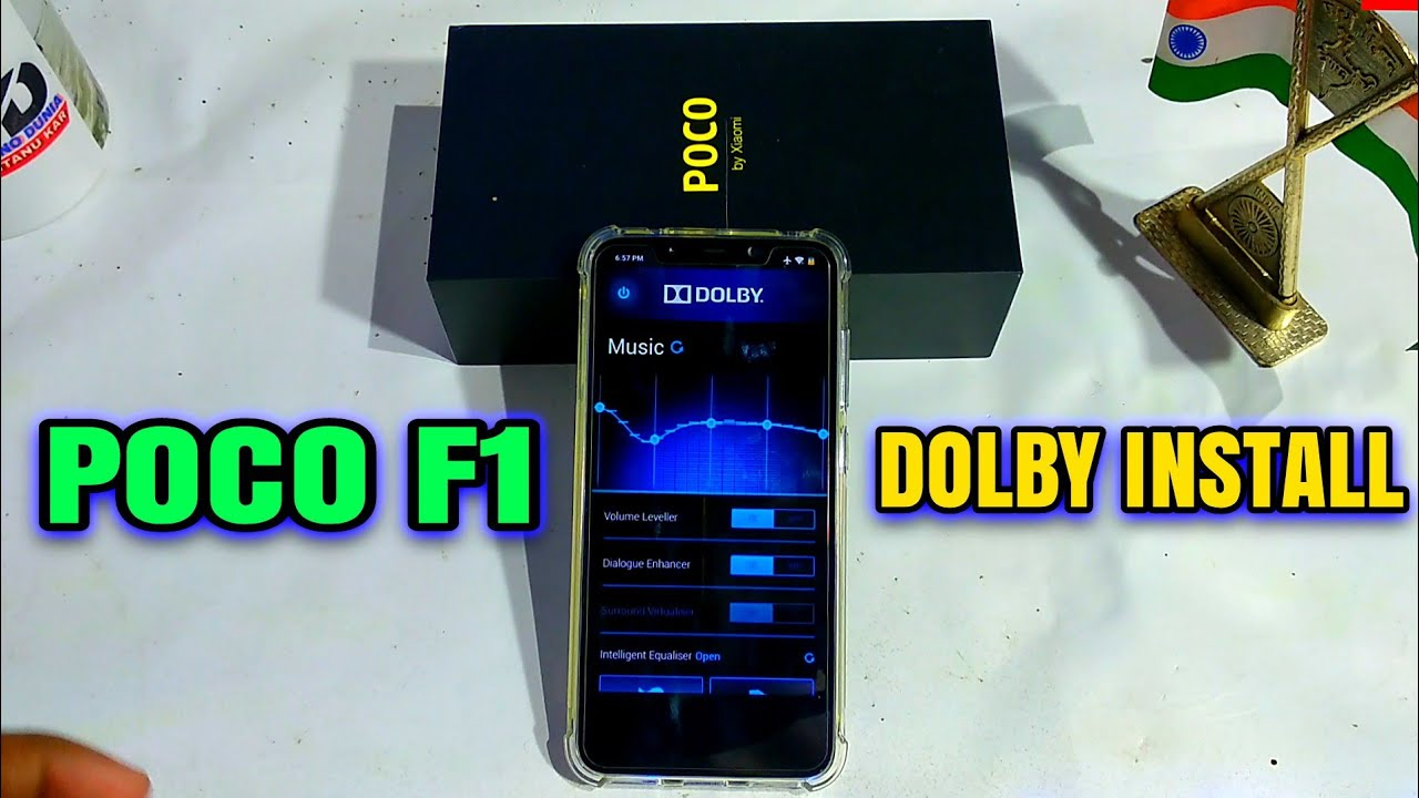 POCOPHONE F1 DOLBY install Easily   Xiaomi Others Phone DOLBY ATMOS Install  On Android 8 1 OREO   HI