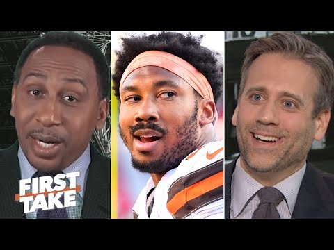 First Take reacts to the NFL reinstating Myles Garrett from suspension