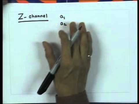 Mod-01 Lec-25 Calculation of Channel Capacity for Different Information Channel