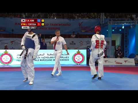 M-58kg Tae-Hun Kim - Rabat 2017 World Taekwondo Grand-Pirx [Highlight]
