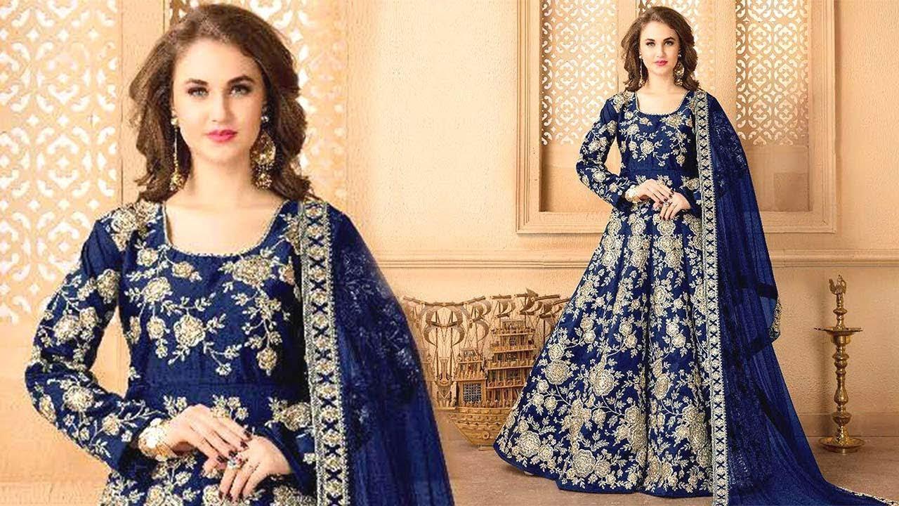 Latest Anarkali Dress Pattern: Anarkalis Floor Length