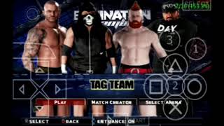 WWE 2K18 PSP v1.77 by Gamernafz,Fix crashes in all matches+rtwm. Download link/instructions.