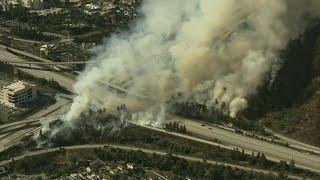 Los Angeles-area fire spurs evacuation orders