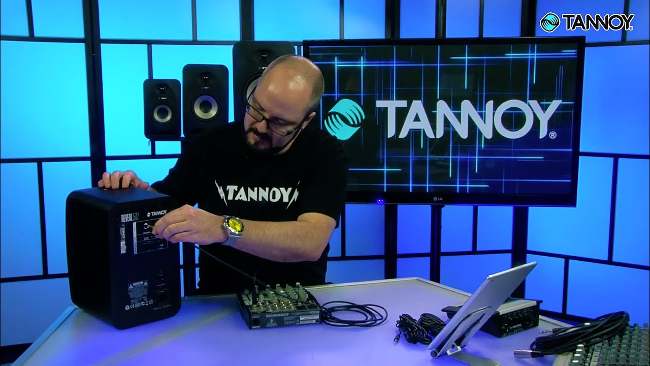 Plugging In and Connecting Your Studio Monitors – Tannoy Studio Monitor 101  Tutorials
