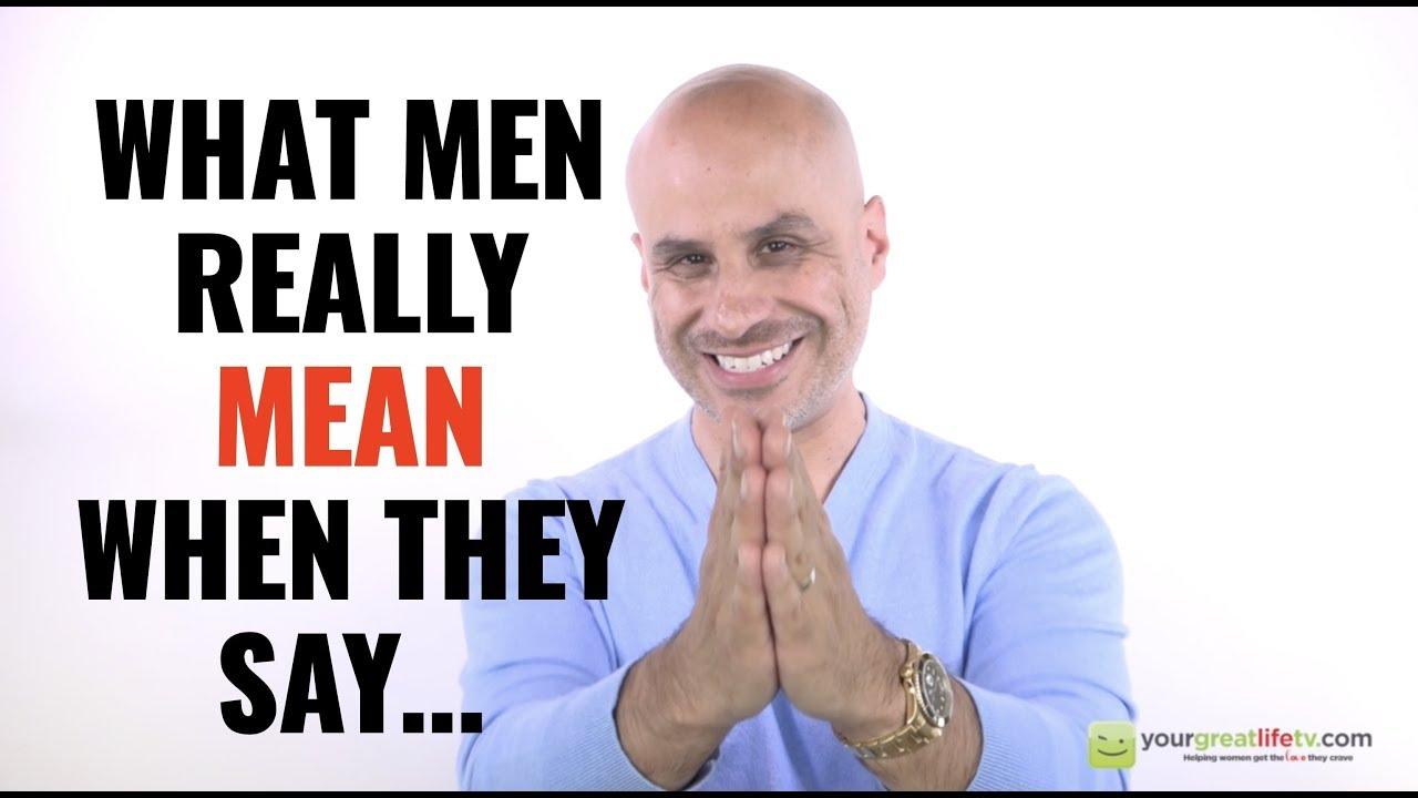 what men mean