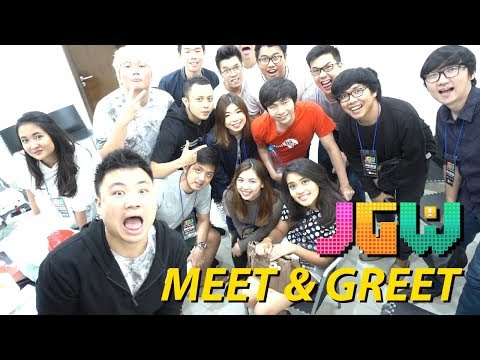 MEET & GREET PERDANA !! ( With PokoPow, MiawAug, GOGOGOY, & Sonalibaba ) - Jakarta Games Week 2017