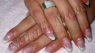 Наращивание ногтей. Свадебный дизайн. Мосс. Краснодар.(Наращивание ногтей, декор, дизайн. Натали Мосс., 2010-07-19T12:25:59.000Z)