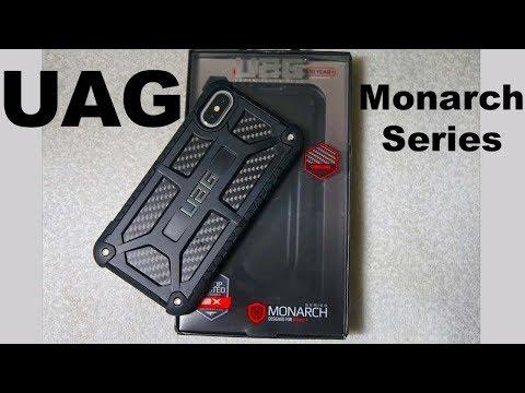 Urban Armor Gear Monarch Carbon Fibre Series iPhone X Case - Review - No Broken Glass Backs!