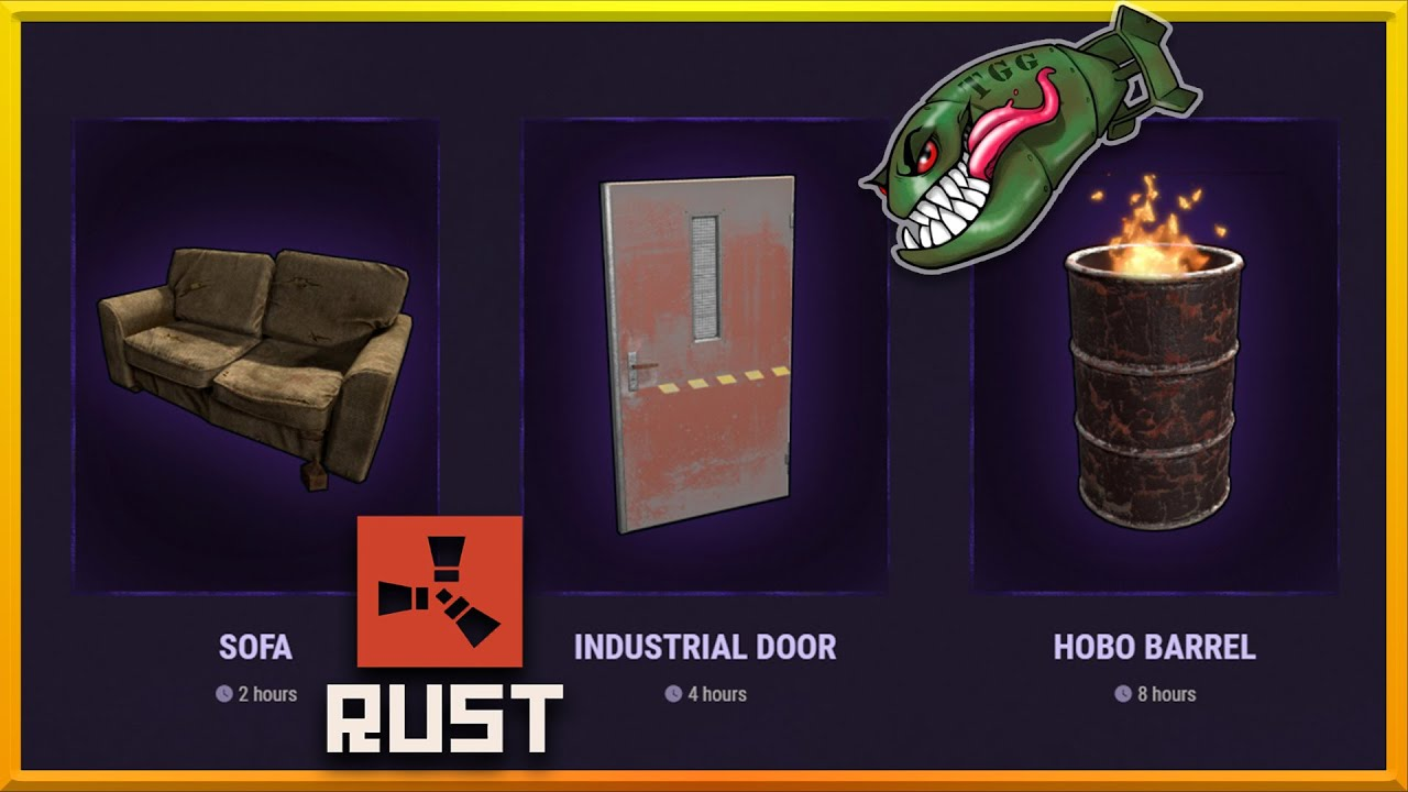 How to get in-game Rust drops by watching...