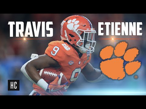 "OFFICIAL 2018 Travis Etienne Highlights |""Stargazing""