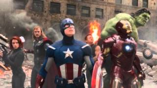 "Avengers Theme ""Arrival"": Four violin duet cover"