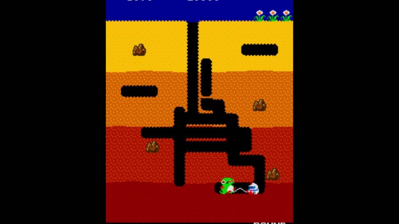 maxresdefault dig dug quick play arcade mame youtube