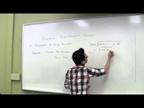 Subgradients of Convex Functions - Pt 1