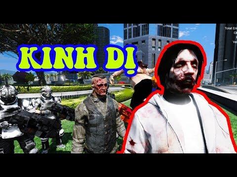 GTA 5 - Tấn công thế giới ngầm - Jeff the killer ra tay (Phim kinh dị phần 4) | GHTG