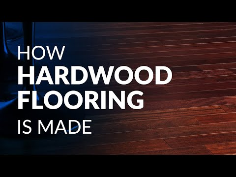 How Hardwood Flooring Is Made Youtube