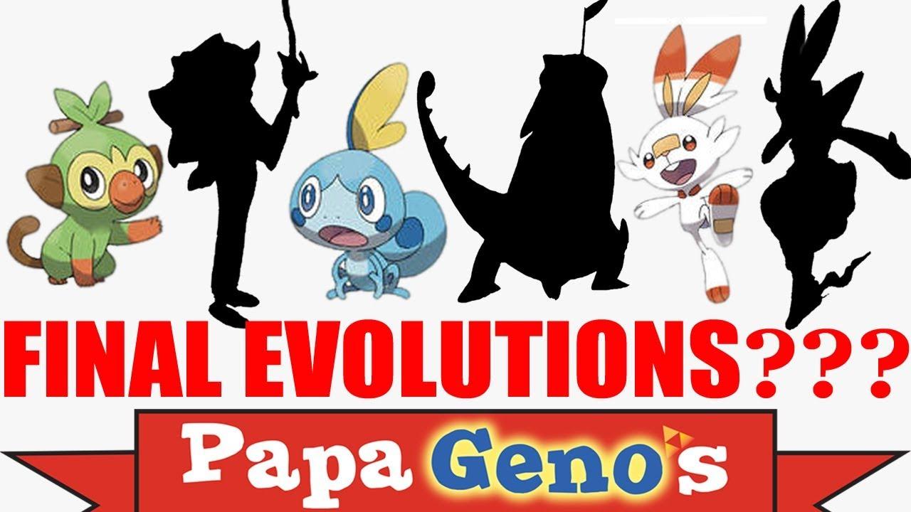 Starter Pokemon Final Evolution Leak Papagenos Youtube