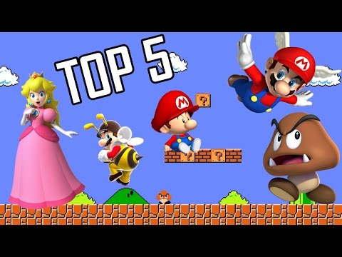 CVG - Top 5 Cosas que me Cagan de Super Mario Bros