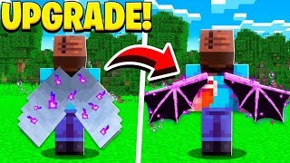 UPGRADING Minecraft ELYTRA into WINGS!
