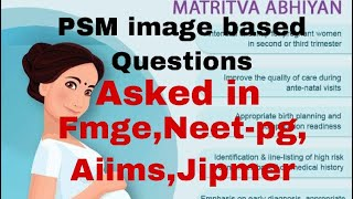 PSM logo Image Based Questions asked in AIIMS, FMGE, INICET, NEET-PG    Mis.Medicine