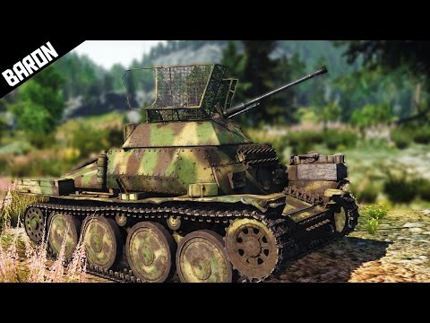 Funny Times in a Rare German Beast - War Thunder Tanks Gameplay