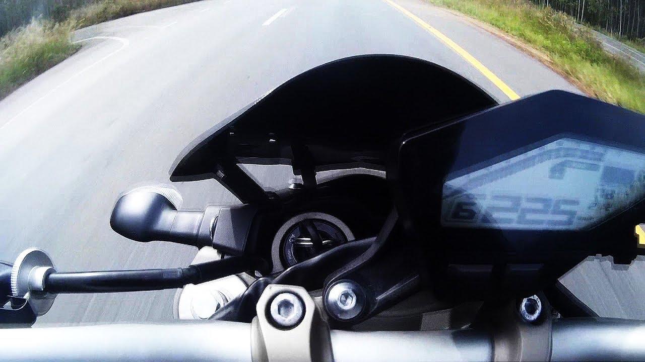 MT09 FZ09 top speed ECU stock 225 KM/H