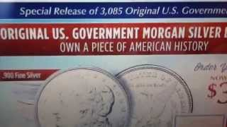 National Collector's Mint Uncirculated Morgan's $39.99