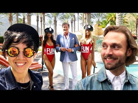 We Spent 24 Hours In David Hasselhoff's Fun Land