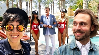We Spent 24 Hours In David Hasselhoff's Fun Land