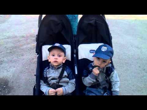 обзор коляски для близнецов караганда