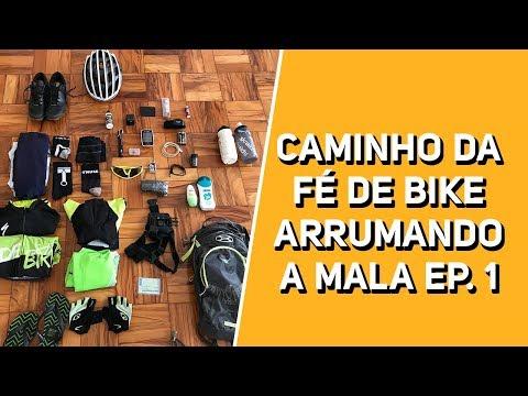 Caminho da Fé de bike - Arrumando a mala ep. 1 - Revista Ride Bike