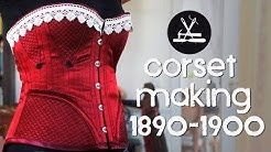 Korsett selber machen - Corded Corsetmaking ca. 1890-1900