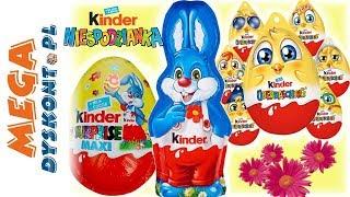 Kinder Niespodzianka • Wielkanocne Czekoladki z Zabawkami!!! • openbox