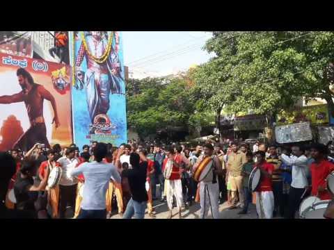 Baahubali2 Release Celebrations at Thirumala Theater Bangalore