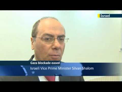 Israel relaxes Gaza blockade: first gravel shipment since 2007 enters Gaza Strip