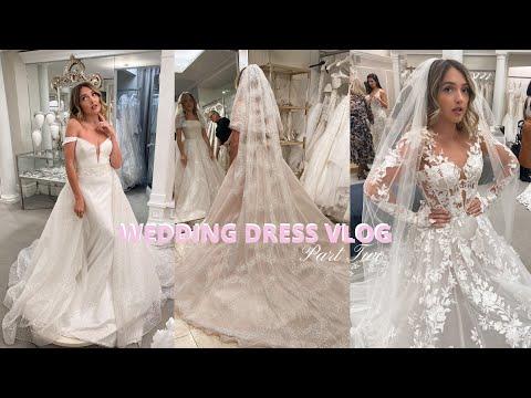 Wedding dress Vlog Pt. 2 NYC